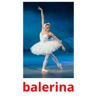 balerina picture flashcards