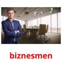 biznesmen picture flashcards