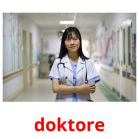 doktore picture flashcards