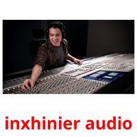 inxhinier audio picture flashcards