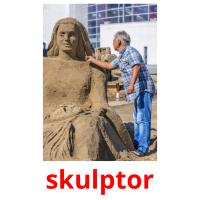 skulptor picture flashcards