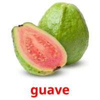 guave picture flashcards