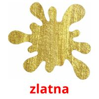 zlatna picture flashcards