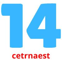 cetrnaest picture flashcards