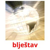 blještav picture flashcards