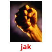 jak picture flashcards