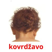 kovrdžavo picture flashcards