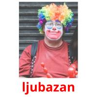 ljubazan picture flashcards