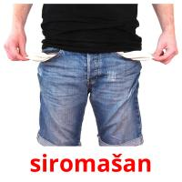 siromašan picture flashcards