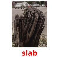 slab picture flashcards
