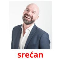 srećan picture flashcards