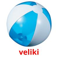 veliki picture flashcards