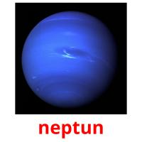neptun picture flashcards