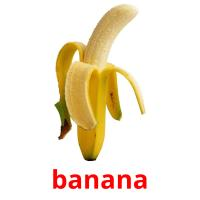banana picture flashcards