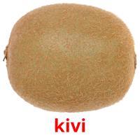 kivi picture flashcards