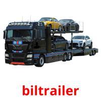 biltrailer picture flashcards