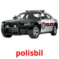 polisbil picture flashcards