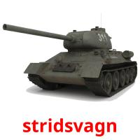 stridsvagn picture flashcards