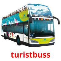 turistbuss picture flashcards