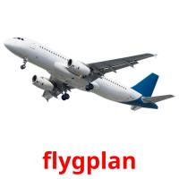 flygplan picture flashcards