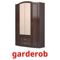 garderob picture flashcards