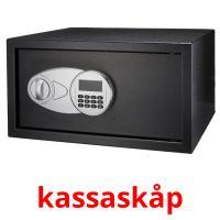 kassaskåp picture flashcards