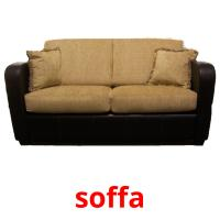 soffa picture flashcards