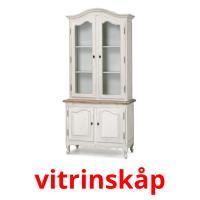 vitrinskåp picture flashcards