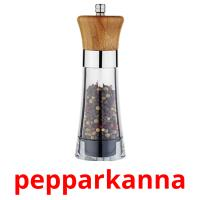 pepparkanna picture flashcards