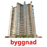 byggnad picture flashcards
