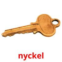 nyckel picture flashcards
