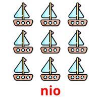 nio picture flashcards