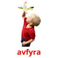 avfyra picture flashcards