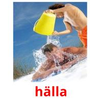 hälla picture flashcards