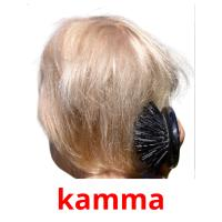 kamma picture flashcards