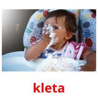 kleta picture flashcards