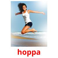 hoppa picture flashcards
