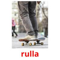 rulla picture flashcards