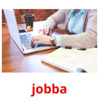 jobba picture flashcards