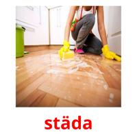 städa picture flashcards