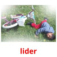 lider picture flashcards