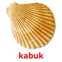 kabuk picture flashcards