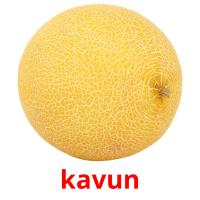 kavun picture flashcards