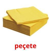 peçete picture flashcards