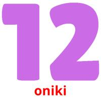 oniki picture flashcards