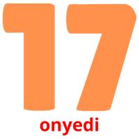 onyedi picture flashcards
