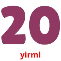 yirmi picture flashcards
