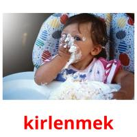 kirlenmek picture flashcards