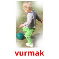 vurmak picture flashcards
