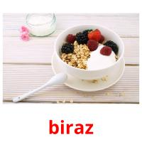 biraz picture flashcards